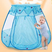 Cheap Wholesale-Portable Ball Pit Pool Game Play Tent For Children Kids Camping House Kids Castle Playhouse Indoor Outdoor Sport Toys 596