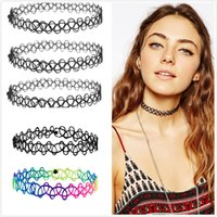 best fish tape - Best Sellers Multi Color Plastic Chokers Necklaces For Women Luxury Brand Boho Jewelry Fish Tape Clavicle Collar Necklaces Chain