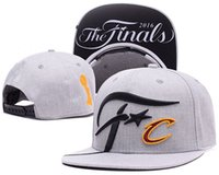 ball locker - Finals SnapBack Hat Cleveland CAVS Locker Room Official Basketball Snap Back Hats Black Hip Hop Snapbacks High Quality Players Sports
