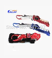 aluminum tool storage - ilure High Quality Space Aluminum Folding Accused of Fish Pliers Lure Plier Fish Grip Fishing Tool
