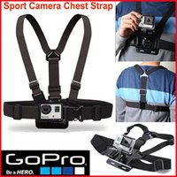 Wholesale GoPro Accessories Adjustable Chest Strap Belt Mount Harness for GoPro Hero Xiaomi SJCAM SJ4000 SJ5000 Sport Action Camera
