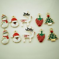 Wholesale Christmas Metal DIY Craft Accessories