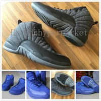 basket boxes - High Quality Retro Wool Men Basketball Shoes s Wool Grey Black Men And Women s Sports Sneakers With Shoes Box