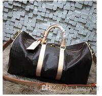 american luggage brands - Brand men women travel bag duffle bag brand designer luggage handbags large capacity sport bag CM