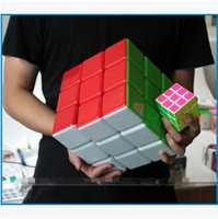 Wholesale 18CM Cube Professional Magic Cube x3x3 Cubo Magico Puzzle Speed Cube Classic Toys Learning amp Education For children KF013