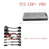 Wholesale Top selling cdp with newest delphi software with free keygen with full set car cables DHL Free