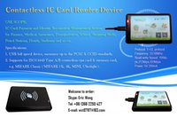 rfid reader - USB Contactless IC Card Reader Writer PCSC CCID ISO Type A B cpu card memory card MIFARE classic with FREE SDK