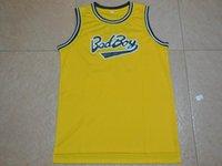 basketball jersey mens small - Mens Cheap Throwback Basketball Jerseys BIGGIE SMALLS BAD BOY Basketball Jersey Stitched Jerseys