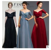 Wholesale 2016 Wedding Dresses Plus size Dresses Evening Wear Strapless Party Prom Dresses For Womens