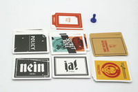 Wholesale New SECRET HITLER Games previously elected NEW president chancellor Card Kickstarter Edition Board Game Party Card Playing cards DHL Fast