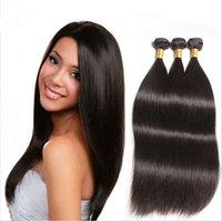 Wholesale Queen Hair Products Peruvian Virgin Hair Straight Bundles Peruvian Human Hair Extension a Grade Puruvian Hair Bundles