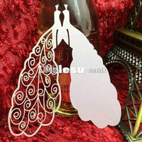 Wholesale Cut Paper Place Escort Card Cup Card Wine Glass Card Wedding Favors