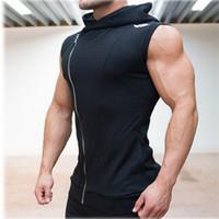 Wholesale Fall Years Crime Gym Body Engineers Hoodies Stringer Vest Man Body Engineers Fitness Movement Sleeveless Vest Vest Vst