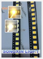 Wholesale White warm white SMD SMT LED PLCC CHIPS smd led MA Mid power LM W