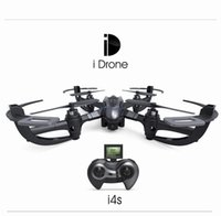 Wholesale Yi Zhan Yizhan i Drone i4S With MP Camera Axis Gyro D Rolling RC Quadcopter RTF GHz