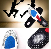 Family activated carbon media - Silicone Gel Shoe Insoles shoe cushion Sport Running Insoles Insert Shoe Pad Arch Support Cushion Orthotic Arch Support Shoe Pad KKA292