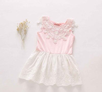 american stories - Eleven Story DH Girls summer baby children lace tutu dress kids clothing CC406DS