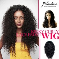 afro hair combs - Glueless Lace Front Wigs Curly Brazilian Celeb Human Hair With Adjustable Stretch And Combs Breathable Cap With Baby Hair