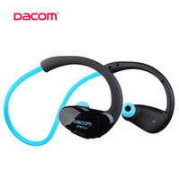 Wholesale Dacom Sport Wireless Bluetooth Earphone Headphones headset for iphone galaxy S7 S6 iOS Android DHL Free