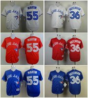 american drew mix - Toronto Blue Jays Drew Hutchison Russell Martin White Blue Red Home Road Cheap American baseball jerseys Embroidery Logo Mix Order