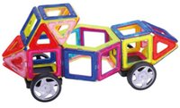 Wholesale Magnetic Building Blocks colours intelligent magnet Construction Learning Educational T o y gift for baby children
