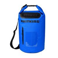 Wholesale KastKing L Ultralight Portable Outdoor Waterproof Bag Dry Bag Hiking Swimming Blue White Fishing Dry Bags