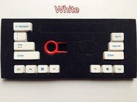 abs mechanical keyboard - keyset RGBY multicolor Enter ABS Key cap For Cherry MX switch Keycool NOPPOO PLU HPE Ducky Filco Mechanical keyboard keycaps