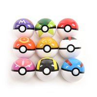 Wholesale For Poke Ball Figures ABS Anime Action Figures For Poke PokeBall Toys Super Master For Poke Ball Toys Pokeball Juguetes