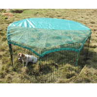 Wholesale New Panel quot Pet Playpen w Door Cover Rabbit Enclosure Dog Cat
