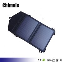 Wholesale 5V W Portable solar charging panels Outdoor travel emergency solar power mobile phone Gps Mp3 Bluetooth earphone solar charger