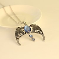 academy sports - Custom Fashion Women Accessories Harry Potter Ravenclaw Lost Crown Magic Academy Alloy Sweater Chain For Girls
