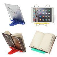 adjustable desk frame - Portable Adjustable Steel Book Document Holder Frame Reading Desk Book Stand Bookrest Bookstand