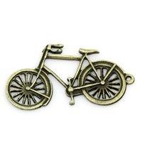 Wholesale Zinc metal alloy Charm Pendants Bicycle Antique Bronze cm quot x mm quot new