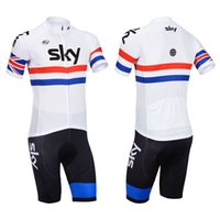 bicycle flags - British flag sky Mountain Racing Bike Cycling Clothing Set Breathable Bicycle Cycling Jerseys Ropa Ciclismo Short Sleeve Cycling Sportswear