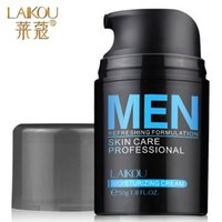 Wholesale 2016 LAIKOU Moisturizing Oil control Men Face Cream g Skin Care Acne Treatment Firming Anti Aging Anti Wrinkle Whitening Cream