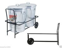 Wholesale TRASH GARBAGE CAN CART Holds lbs