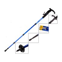 Wholesale FuLang fashionable Hiking Walking Trekking Trail Poles Ultralight section Adjustable Canes Walking stick FZ336