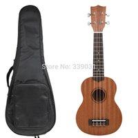 Wholesale NAOMI SOPRANO UKULELE Ukelele Hawaii Guitar Mahogany Fret Bag quot Ukulele NEW