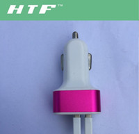 air port cars - 3 port Rapid USB Car battery Chargers Adapter many colors available for Apple Iphone s s s c Ipad Air