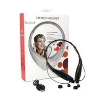 best price gold headphones - Best Price HBS HBS730 Bluetooth Headsets Wireless Neckband Earphone Sport Headphones with Call Vibration Retail Package Colors