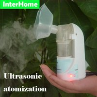 Wholesale Genuine Home Medical Ultrasonic Atomizer Nebulizer Air Humidifier Treatment of Various Children and Adult Respiratory Diseases