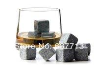 Wholesale brand new Whisky stones set in velvet bag whiskey stone rock sets