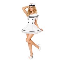 adult doll costumes - Adult Nautical Doll Carnival Fantasy Sexy Girl Navy Sailor Cosplay Dress Party Costume