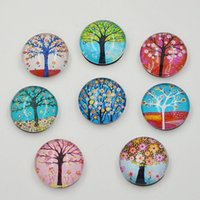 Wholesale 10pcs New tree crystal glass fridge magnet stick Refrigerator Sticker Magnetic Stickers home decor funny gift