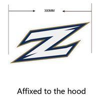 akron zips - Akron Zips car sticker Car reflective stickers