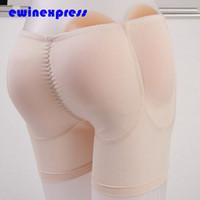Wholesale S XL healthy Silicone Padded Panties Shapewear Bum Butt Hip Enhancing Underwear Crossdresser for Butt Enlargement Beauty buttock