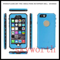 best iphone waterproof case - Best Quality Redpepper Waterproof Shockproof Case For Iphone S Plus Hard PC Full Body Cover Retail Package