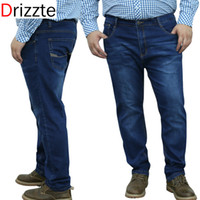 best pencil brand - Drizzte Mens Brands Plus Size Stretch Big Large Denim Jeans Best Mens Work Business Jean Trousers Pants