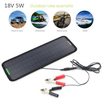 batteries tractor - New V W Portable Solar Panels Sunpower Car Boat Panel Battery Charger Maintainer for Automobile Motor Tractor Boat outdoor Battery bank