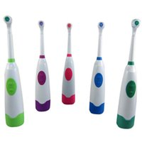 battery toothbrush for kids - Rotating Electric Toothbrush For Kids with Brush Heads Covers and Holder without battery GUB